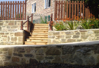 Landscaping restoration project in the High Peak