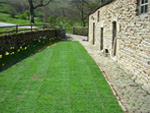 Lawn Mowing in the High Peak, Derbyshire