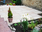 Garden landscaping in Chapel en le frith, High Peak