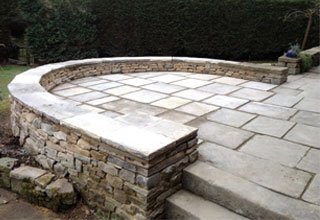 Patio Landscaping by David J Howe in Derbyshire